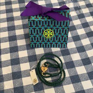 Tory Burch Braided Lock Wrap Bracelet